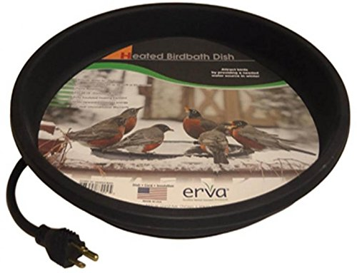 dia Heated Bird Bath Dish Replacement Erva D14BH 14 in