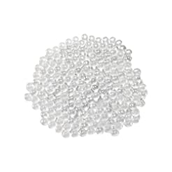 Adamas-Beta Solid Round Clear Glass Bead...