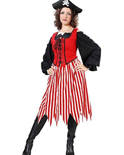 Pirate Wench Striped Skirt