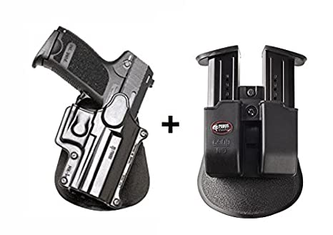 Amazon com : Fobus Concealed Carry Paddle Holster + 6909ND