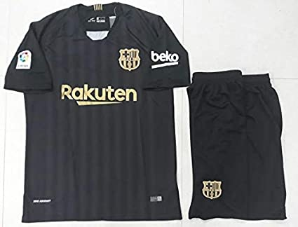 83909d341 Buy GOLDEN FASHION Barcelona Training Football Jersey with Short ...