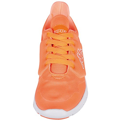 Kappa Damen New York Sneaker Orange (Coral/White)
