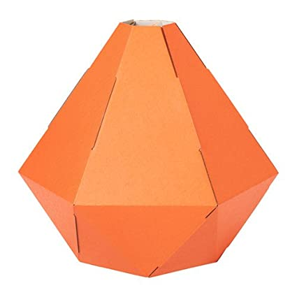 Amazon.com: IKEA 2 paquetes lámpara colgante, color naranja ...