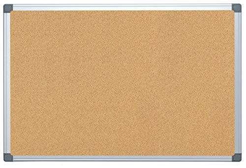 FORAY Aluminum-Framed Cork Bulletin Board, 24