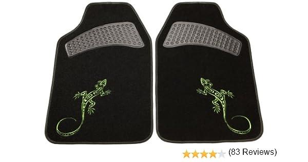 Cartrend 60222 Set completo cubreasientos Gecko Mesh con bolsillo porta verde documentos