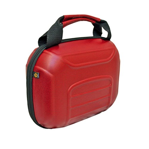 """Vatra 9"""" Hard Case Red Diamond, Glass protection case, Vape"""