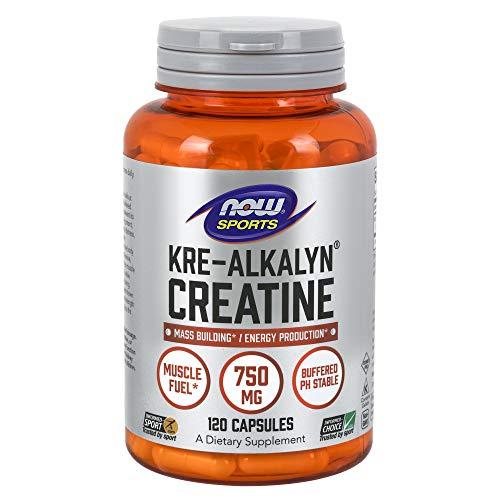 NOW Sports Kre-Alkalyn(R) Creatine 750 mg, 120 Capsules