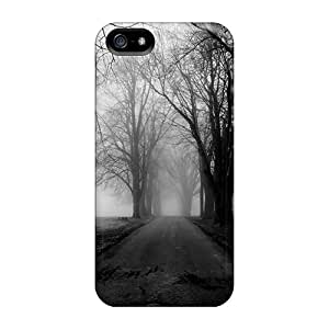Premium Foggy Road 2 Covers Skin For Iphone 5/5s