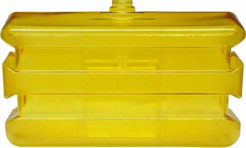 Bradley Eye Wash Stations - Bradley 133-140 Polycarbonate On-Site Portable Eyewash Tank, Clear/Yellow