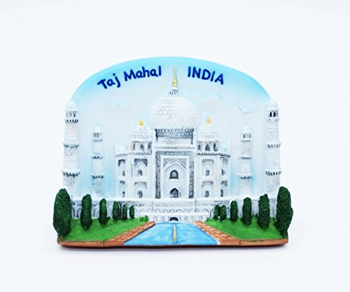 Taj Mahal Indian India 8th Wonder Thai Magnet Hand Made Craft (Wonder Thai)