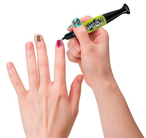 416f3q4kGtL - ALEX Spa Hot Hues Sketch It Nail Pens