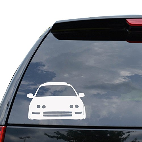 - ACURA INTEGRA JAPANESE JDM Decal Sticker Car Truck Motorcycle Window Ipad Laptop Wall Decor - Size (07 inch / 18 cm Wide) - Color (Matte WHITE)