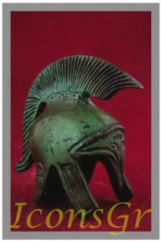 Ancient Greek Bronze Replica of Macedonian Helmet (1384)