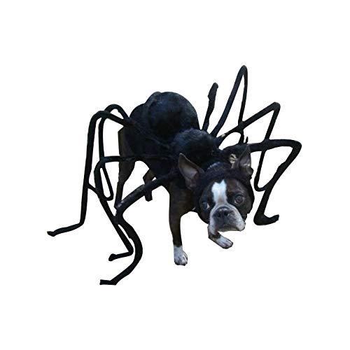 TAIMEI Divertente Pet Costume Scherzo del Cane Gatto Accessori Nero Spider Prank Prop Spaventoso Horror Party Villain Bug terrore Animali DIY Halloween