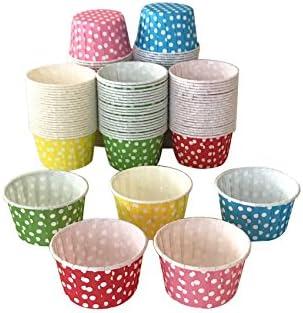 Polka Dot Cupcake Muffin Cups