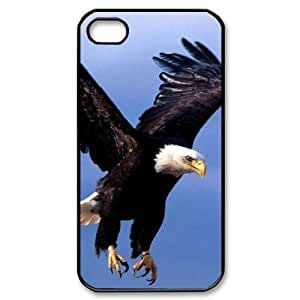 Bald Eagle Brand New Cover Case for Iphone 4,4S,diy case cover ygtg578957 by runtopwell