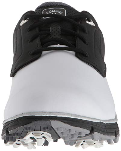 Pictures of Callaway Men's LaJolla Golf Shoe Black/ Black/White 6