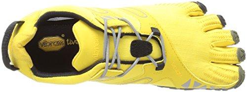 Vibram Women's V Trail Runner, Yellow/Black, 37 EU/6.5 M US by Vibram (Image #8)
