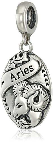 Chamilia Sterling Silver Aries Hanging Bead Charm