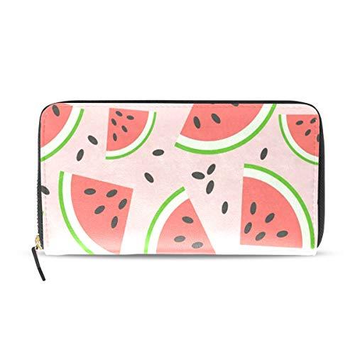y Watermelon Leather Passport Wallet Coin Purse Girls Handbags ()