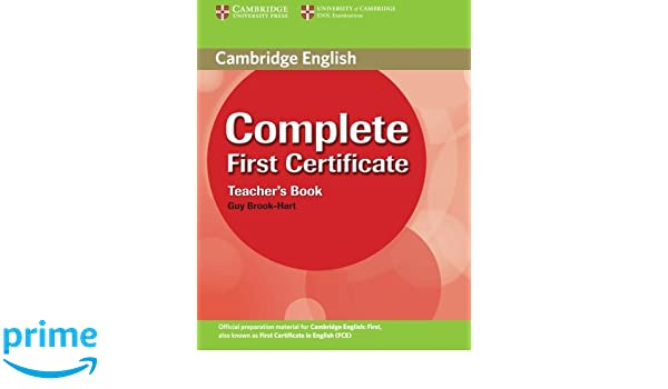 Complete First Certificate Book Download