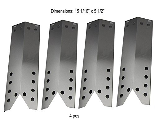 "el Heat Plate, Heat Shield Replacement for Kenmore Sears, Nexgrill, Sunbeam Grillmaster, Lowes Model Grills (15 1/16"" x 5 1/2"") ()"