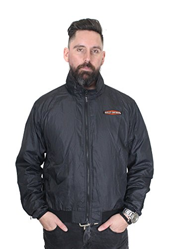 (Harley-Davidson Mens Heated Plug-in 12V Black Jacket Liner 98331-15VM)