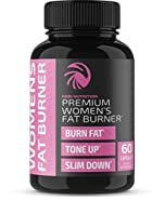 Premium Fat Burner Pills for Women - Thermogenic Supplement, Carbohydrate Blocker, Metabolism Booster & Appetite Suppressant - for Healthier Weight Loss - Increase Fat Loss & Muscle Tone (60 Capsules)