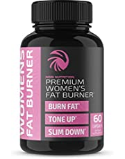 Fat Burner Pills for Women   Thermogenic Supplement Metabolism Booster and Appetite Suppressant Designed for Healthier Weight Loss   60 Capsules