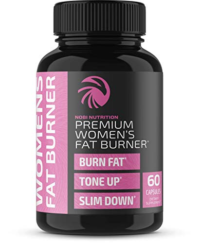 Premium Fat Burner Pills for Women - Thermogenic Supplement, Carbohydrate Blocker, Metabolism Booster & Appetite Suppressant - for Healthier Weight Loss - Increase Fat Loss & Muscle Tone (60 Capsules) ()