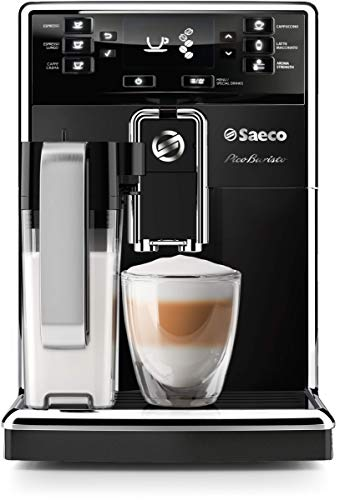 Philips Saeco HD8927/37 PicoBaristo Super Automatic Espresso Machine, Countertop, Piano Black