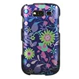 Dream Wireless CASAMBLAZEBLMTWD Slim and Stylish Design Case for the Samsung Galaxy Blaze 4G - Retail Packaging - Multi Weed