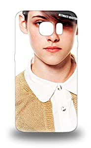 Galaxy Skin 3D PC Case Cover For Galaxy S6 Popular Kristen Stewart American Female KK Kris KStew KST The Twilight Saga Into The Wild Phone 3D PC Case ( Custom Picture iPhone 6, iPhone 6 PLUS, iPhone 5, iPhone 5S, iPhone 5C, iPhone 4, iPhone 4S,Galaxy S6,Galaxy S5,Galaxy S4,Galaxy S3,Note 3,iPad Mini-Mini 2,iPad Air )