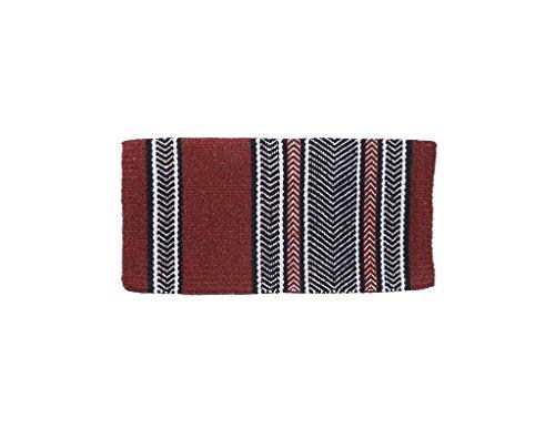 Tough-1 Shoshone Saddle Blanket Burgundy