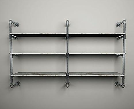 Cabina Armadio Industriale : Cabina armadio ripiani tubi idraulici stile industriale arredamento
