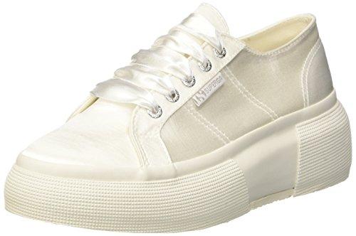 Superga Damen 2287-satinw Sneaker Bianco (white)