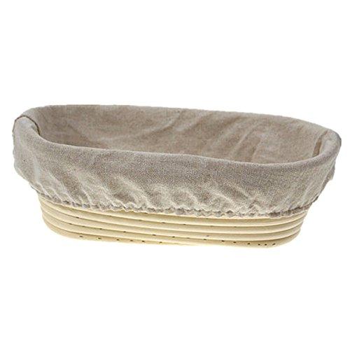 OBeauty Top Calidad Hand-Craft Cesta de Pan Rectangular Oval ...