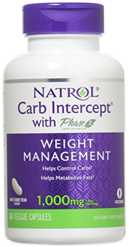- Natrol Carb Intercept with Phase 2 Starch Neutralizer, 60 Capsules