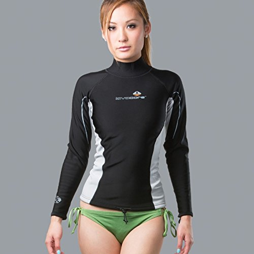 New Womens LavaCore Trilaminate Polytherm Long Sleeve Shirt (Medium) for Extreme Watersports by Lavacore