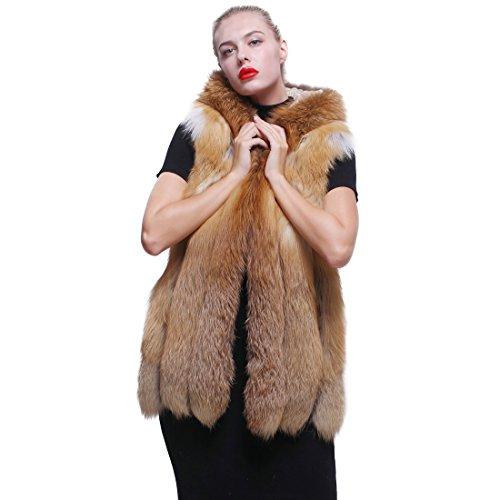URSFUR - Abrigo - para mujer dorado