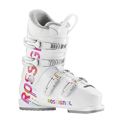 Rossignol Fun Girl J4 Girls Ski Boots - 25.5/White by Rossignol