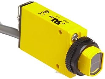 Banner SM2A312LV Mini Beam AC Photoelectric Sensor, Visible Red LED, Retro Mode, 5m Range