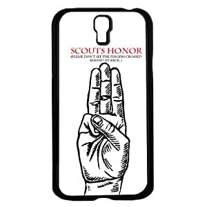 Scouts Honor Funny Black White and Red Hard Snap on Phone Case (Galaxy s4 IV)