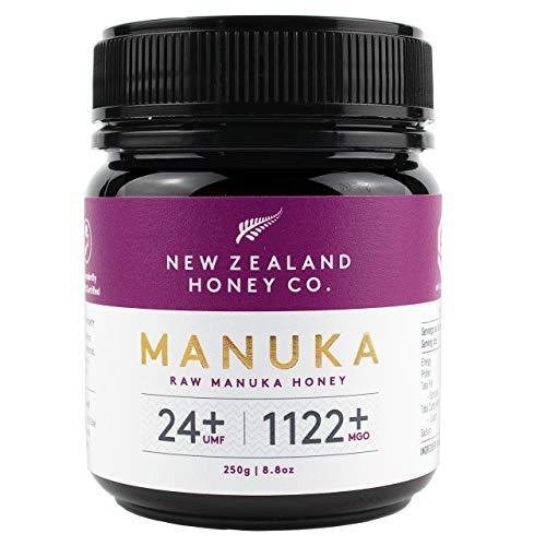 Nieuw-Zeeland Honey Co. Rauwe Manuka-honing UMF 24+ / MGO 1122+   250g