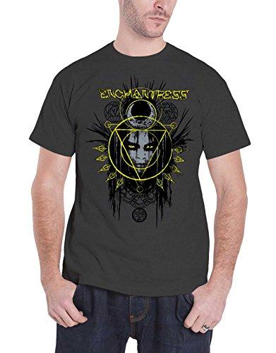 Suicide Squad T Shirt Enchantress new Official DC Comics Mens Grey]()