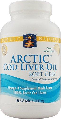 Cheap NORDIC NATURALS-ARCTIC COD LIVER OIL LEMON 1000 MG. 360 SOFT GELS