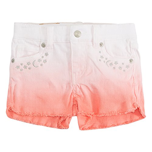 Pocket Stud Jean Back (Levi's Girls' Denim Shorty Shorts)