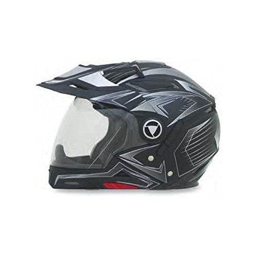 AFX FX-55 7-in-1 Helmet, Distinct Name: Flat Black Multi, Gender: Mens/Unisex, Helmet Category: Street, Helmet Type: Modular Helmets, Primary Color: Black, Size: Lg 0104-1578