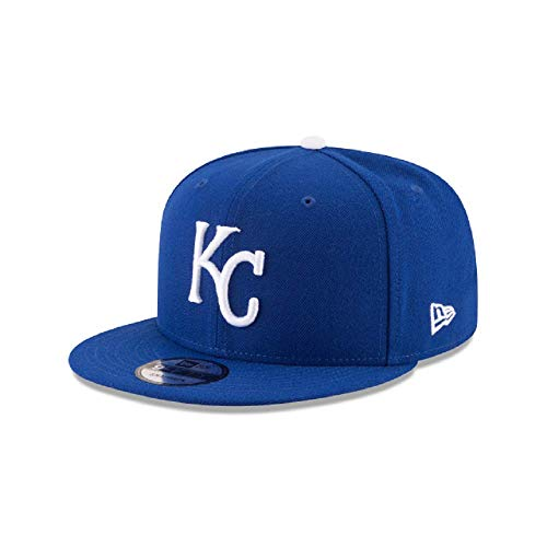 New Era Kansas City Royals MLB Basic Snapback Team Color 950 Adjustable Cap (City Hats Royals Kansas)
