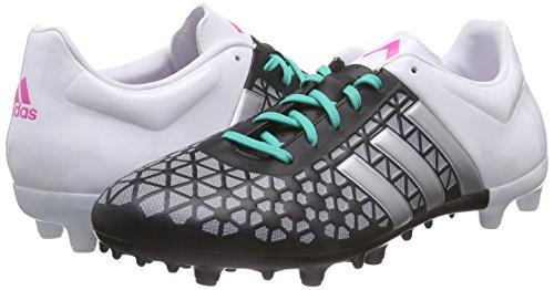 FG AG de Blanco Plamat para Ftwbla Plateado Negbas Negro adidas Fútbol Botas Hombre 3 15 Ace qwx7xFpYtI